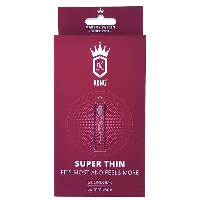 KUNG Super Thin 6-pack
