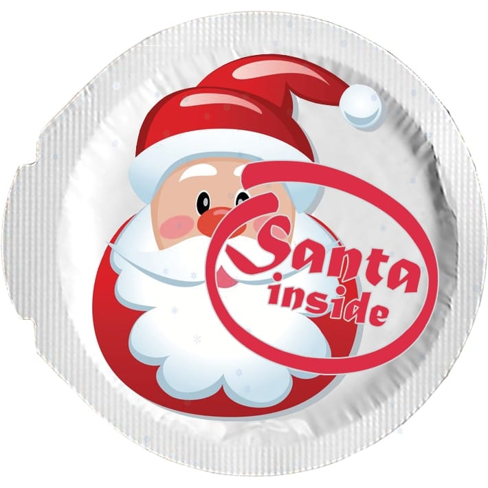 Happy Condoms Santa Inside 1 stk