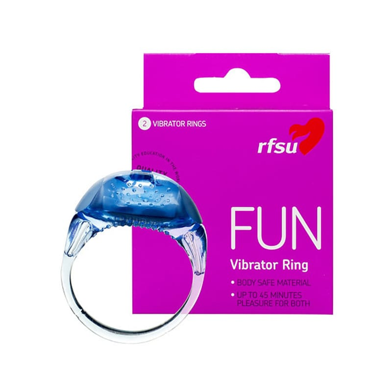RFSU FUN Vibrating Ring 2-pack