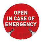 EXS Open in Case Of Emergency 1 stk