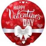 Happy Condoms Valentines Day Gift Wrap 1 stk